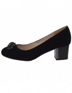 Pantofi dama, piele naturala, marca Deska, Cod 34214-01-33, culoare negru