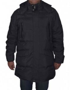 Jacheta textil barbati, poliamida, marca Geox, Cod M8428V-F4386-D2-06, culoare indigo