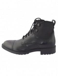 Ghete barbati, piele naturala, marca Geox, Cod U843PE-C9999-01-06, culoare negru