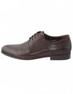 Pantofi barbati, piele naturala, marca Saccio, Cod C253-08B-02-17, culoare maro