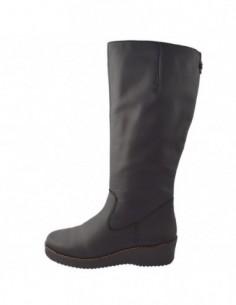 Cizme dama, piele naturala, marca Rieker, Cod Y4690-00-01-22, culoare negru