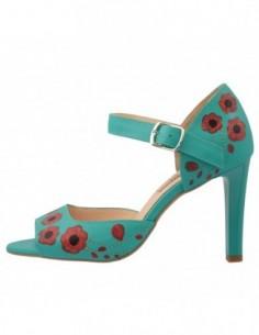Sandale dama, piele naturala, marca Botta, Cod 970-06-05, culoare verde