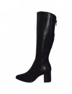 Cizme dama, din piele naturala, marca Caprice, 9-25517-21-01-03, negru