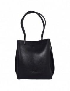 Geanta dama, din piele naturala, marca Tony Bellucci, 0-266-01A-64, negru