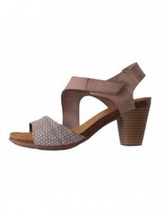 Sandale dama, piele naturala, marca Marila, Cod 9821-03-36, culoare bej