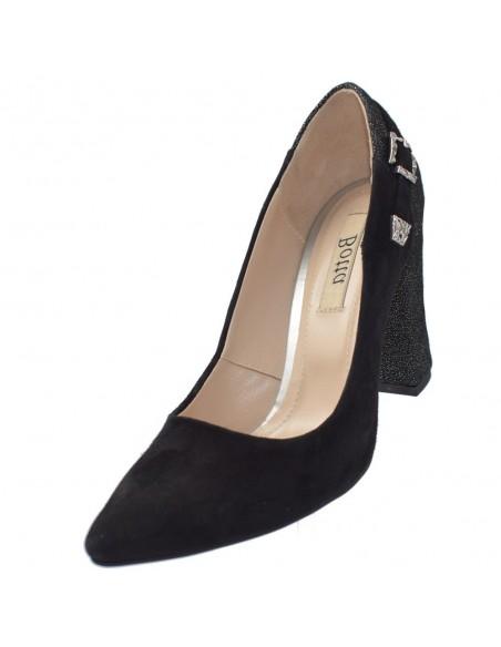 Pantofi dama, din piele naturala, marca Botta, 1029-18-01-05, negru