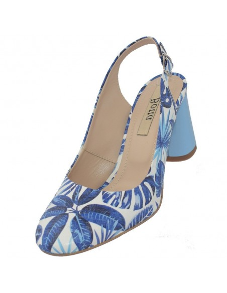 Pantofi dama, din piele naturala, marca Botta, 1034-19-41-05, blue