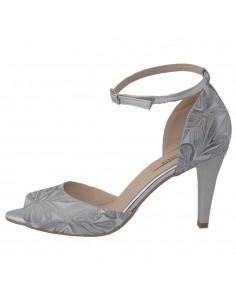 Pantofi dama, din piele naturala, marca Botta, 1226-19-18-05, argintiu