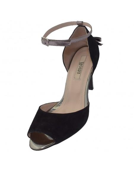 Pantofi dama, din piele naturala, marca Botta, 1226-19-01-05, negru