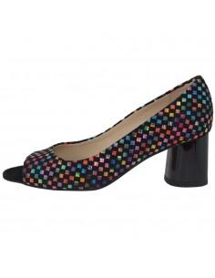 Pantofi dama, din piele naturala, marca Botta, 1235-19-01-05, negru
