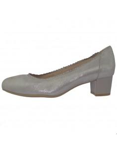 Pantofi dama, din piele naturala, marca Caprice, 9-22304-22-18-19-03, argintiu
