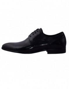Pantofi eleganti barbati, piele naturala, marca Alberto Clarini, Cod A037-51A-01-113, culoare negru
