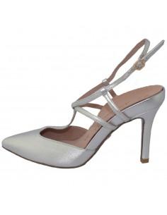 Pantofi dama, din piele naturala, marca Tamaris, 1-29611-22-18-10, argintiu