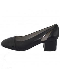 Pantofi dama, din piele naturala, marca Jana, 8-22340-22-01-09, negru