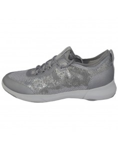 Adidasi dama, din textil si sintetic, marca Geox, D92BHA-C1007-18-06, argintiu