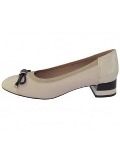 Pantofi dama, din piele naturala, marca Geox, D849XC-C5002-52-06, crem