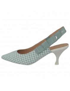Pantofi dama, din piele naturala, marca Geox, D92BWA-C0464-67-06, alb/verde