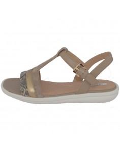 Sandale dama, din piele naturala, marca Geox, D92DRB-C5004-03-06, bej