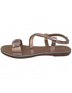 Sandale dama, din piele naturala, marca Marco Tozzi, 2-28140-22-19-10-08, roze