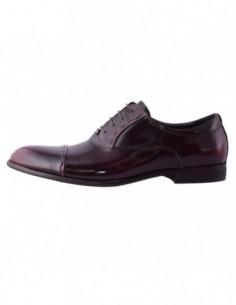 Pantofi eleganti barbati, piele naturala, marca Alberto Clarinii, Cod A084-6D-30-113, culoare bordo