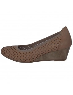 Pantofi dama, din piele naturala, marca Marco Tozzi, 2-22500-22-03-19-08, bej