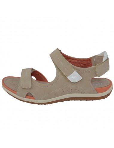 Sandale dama, din piele naturala, marca Geox, D52R6A-C5000-03-06, bej