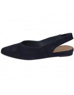 Pantofi dama, din piele naturala, marca Tamaris, 1-29406-22-42-10, bleumarin