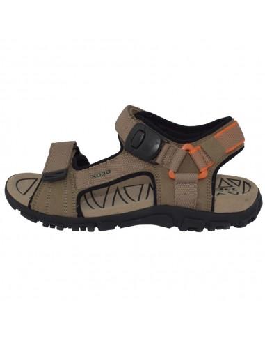 Sandale dama, din piele naturala, marca Geox, U9224-C0704-03-06, bej