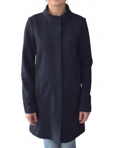 Jacheta textil dama, din poliamida, marca Geox, W9221N-F4386-42-06, bleumarin
