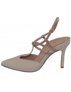 Pantofi dama, din piele naturala, marca Tamaris, 1-29611-22-52-10, crem