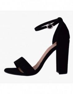 Sandale dama, piele naturala, marca Carmens, Cod A39018-01-35, culoare negru